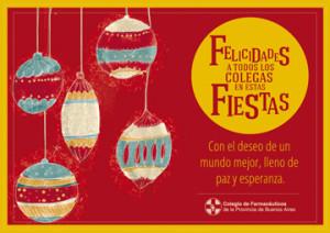 tarjeta navidad fiestas 2013 para ale